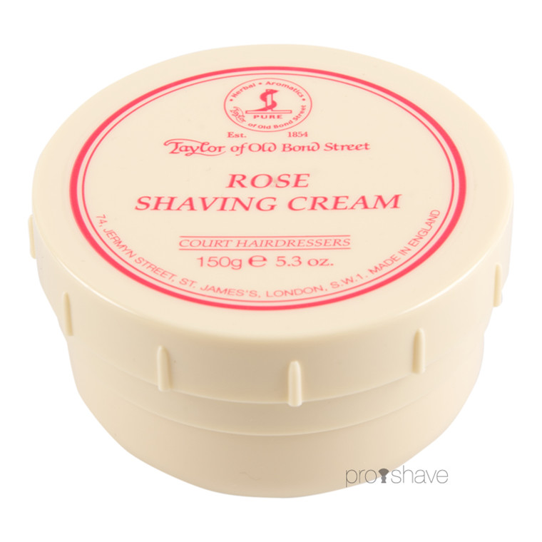 Taylor Of Old Bond Street Barbercreme, Rose, 150 gr.