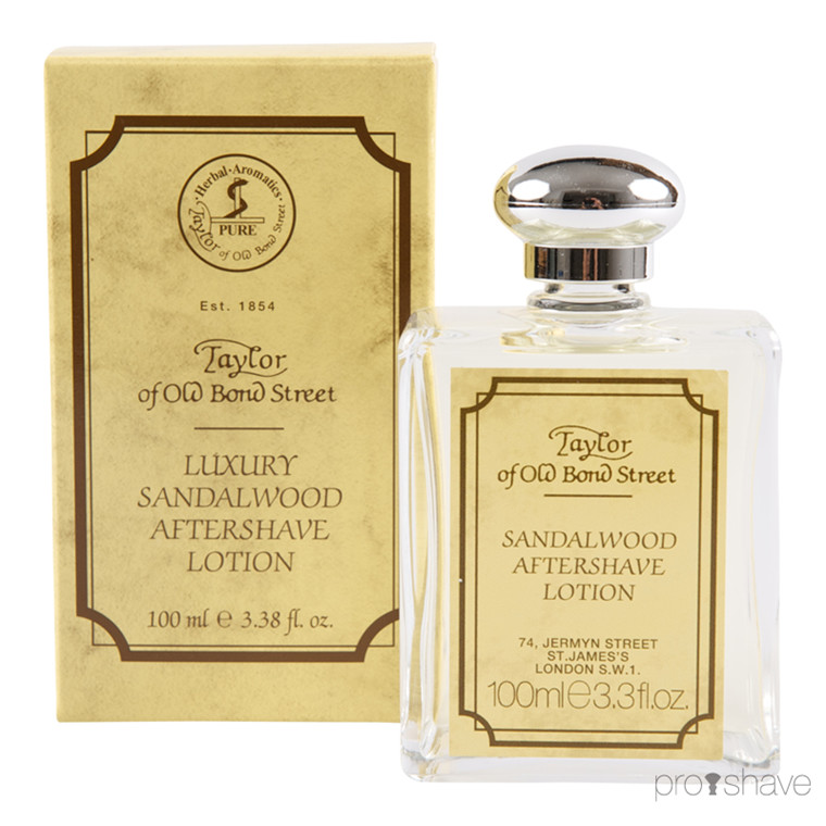 Taylor Of Old Bond Street Aftershave, Sandeltræ, 100 ml.