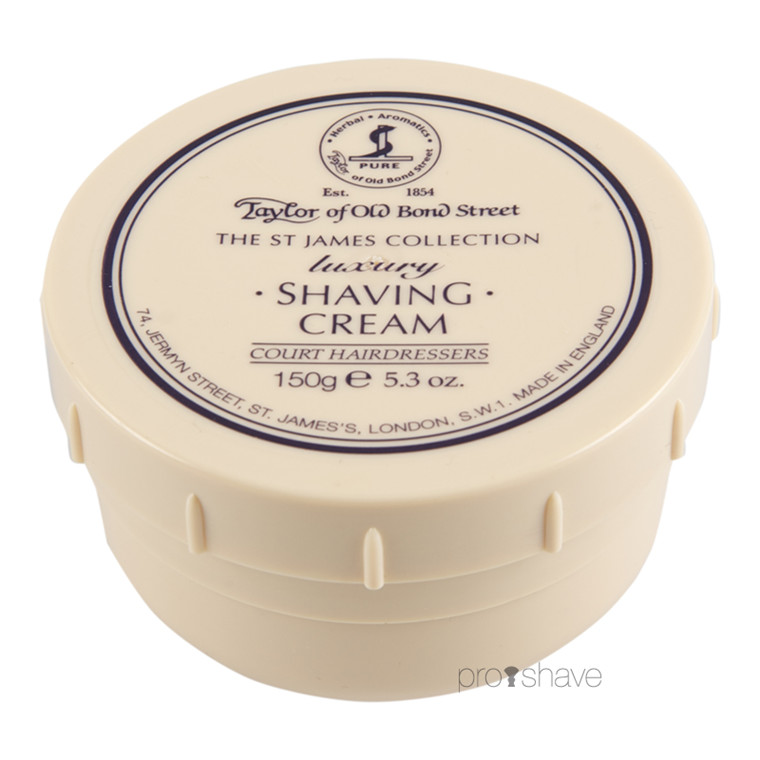 Taylor Of Old Bond Street Barbercreme St James Collection, 150 g.