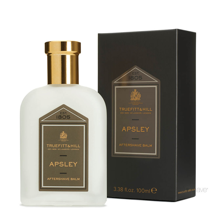 Truefitt & Hill Aftershave Balm, Apsley, 100 ml.