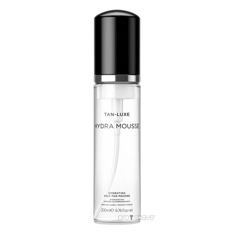 Tan Luxe HYDRA MOUSSE Medium / Dark, 200 ml.