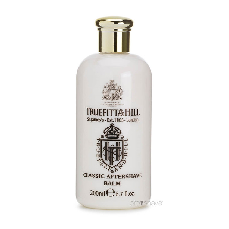 Truefitt & Hill Aftershave Balm, Classic, 200 ml.