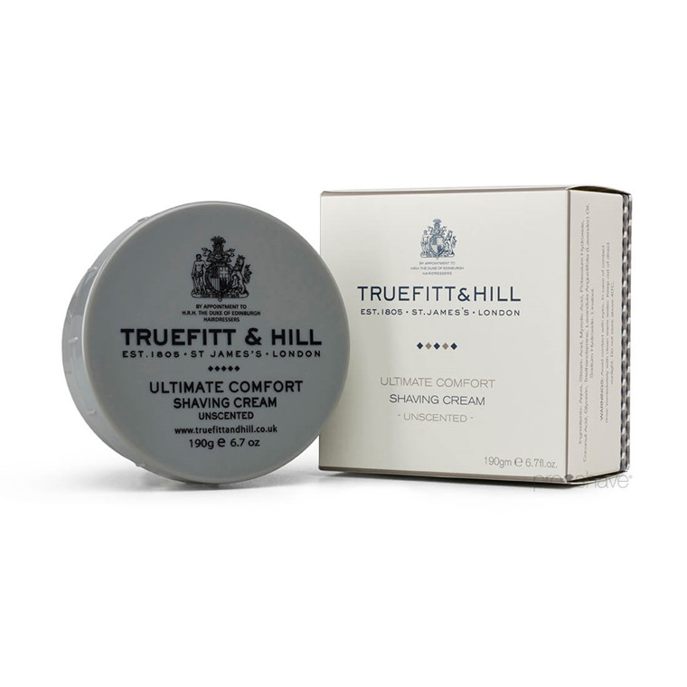 Truefitt & Hill Ultimate Comfort Barbercreme, 190 gr.