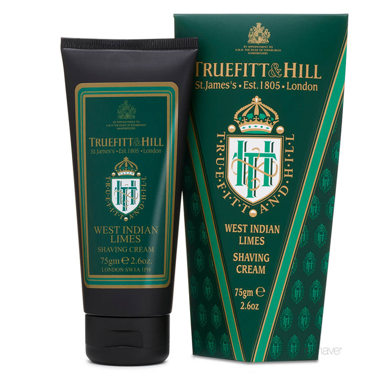 Truefitt & Hill Barbercreme, West Indian Limes, 75 gr.