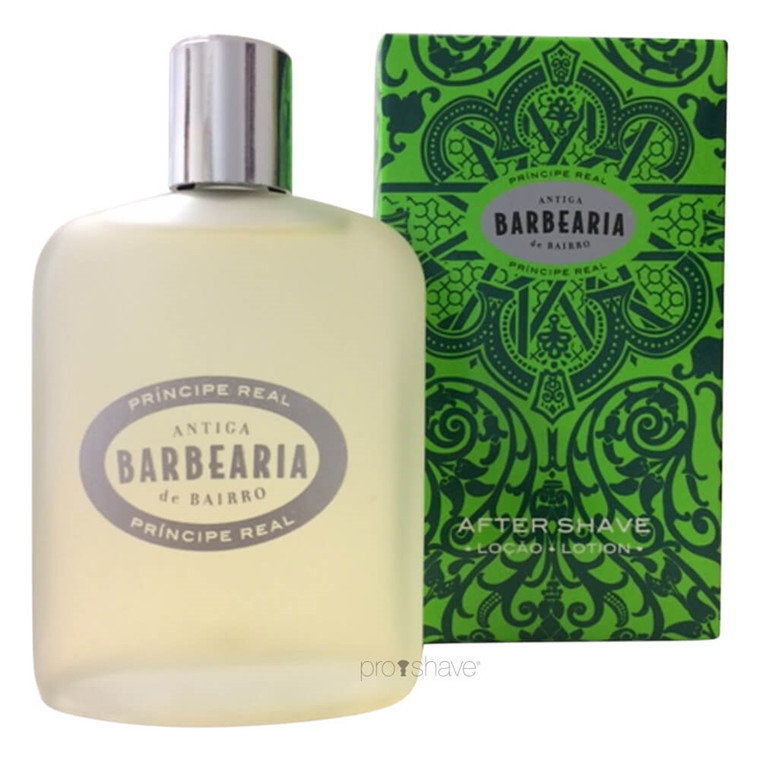 Antiga Barbearia de Bairro Aftershave Lotion, Príncipe Real, 100 ml.