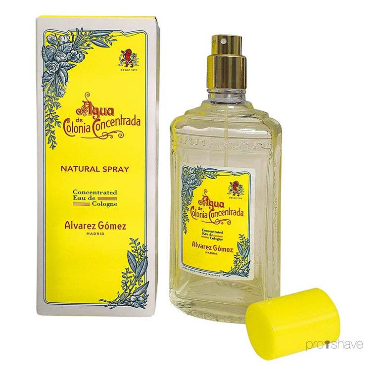 Alvarez Gómez Agua Concentrated Eau de Cologne Spray, 80 ml.