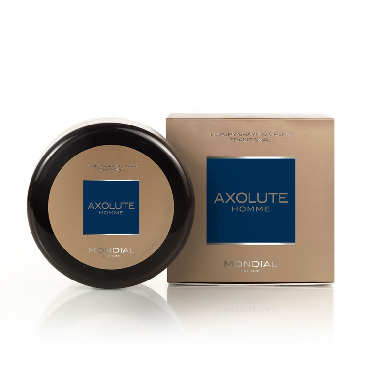 Mondial Axolute Homme Traditionel Barbercreme, 150 ml.