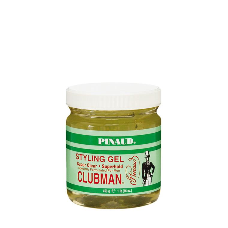 Pinaud Clubman Super Clear Styling Gel, 453 gr.
