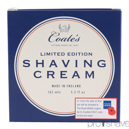 Coates Limited Edition Barbercreme, 165ml