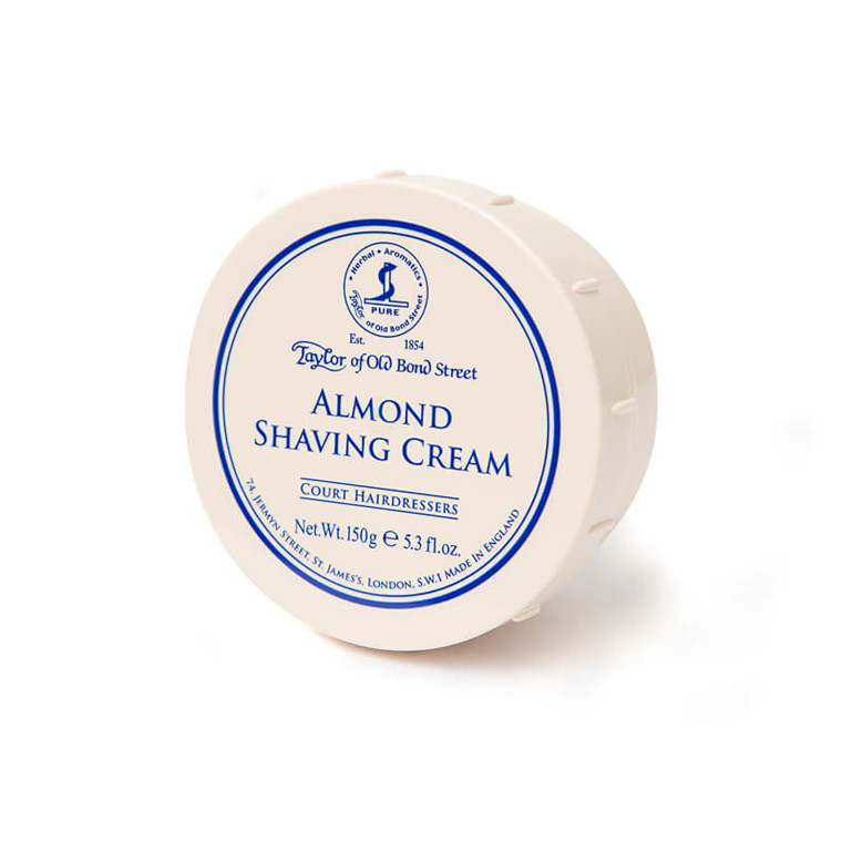 Taylor Of Old Bond Street Barbercreme, Mandel, 150 gr.