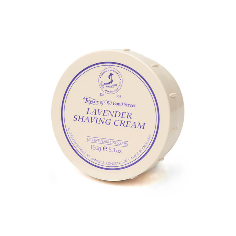Taylor Of Old Bond Street Barbercreme, Lavendel, 150 gr.