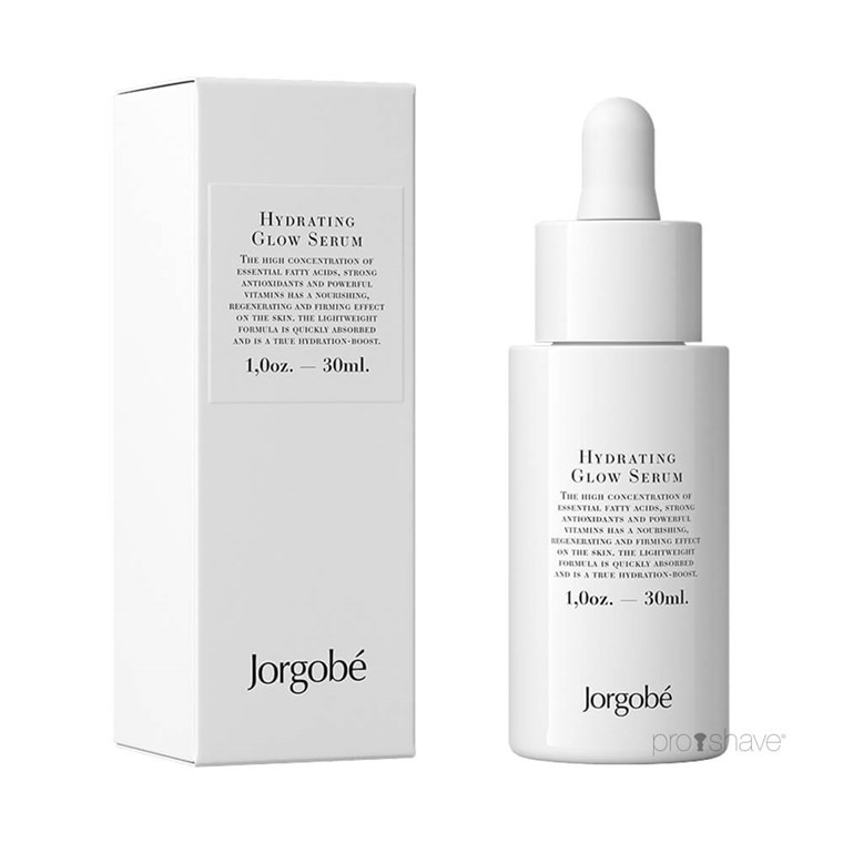 JorgObé Hydrating Glow Serum, 30 ml.