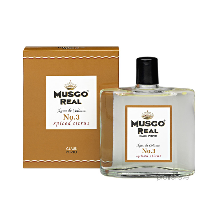 Musgo Real Cologne No.3, Spiced Citrus, 100 ml.