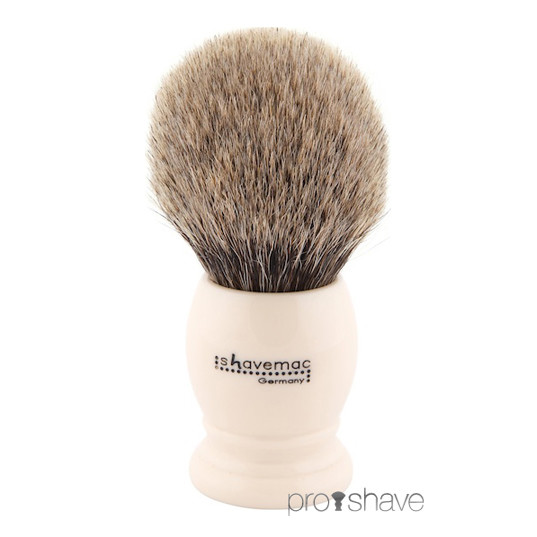 Shavemac Barberkost, Pure Badger, 30 mm.