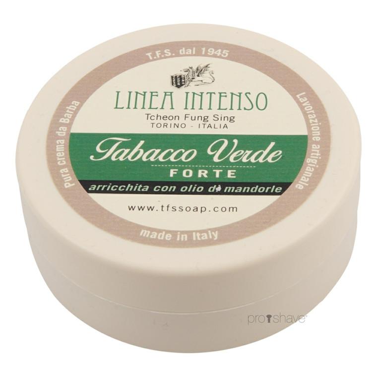 TFS Torino Barbercreme Grøn Tobak, 150 ml.