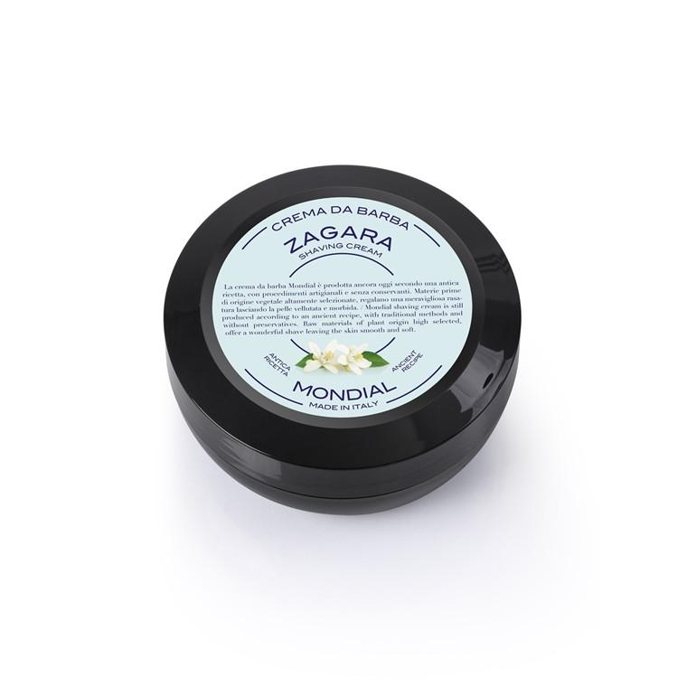 Mondial Shaving Barbercreme i Rejsestørrelse, Zagara, 75 ml.