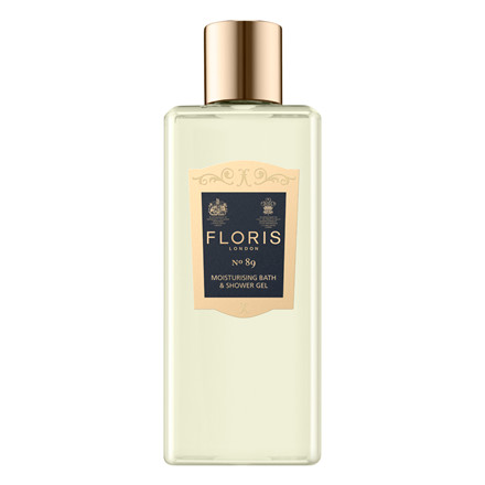 Floris No.89, Moisturising Bath & Shower Gel, 250 ml.