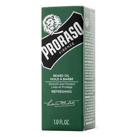 Proshave Skægsæt med Skægbørste (Fibre) og Proraso Skægolie