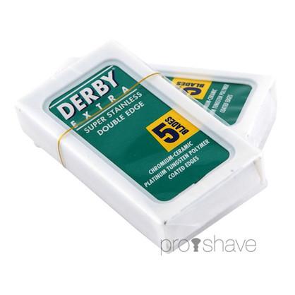 1 Stang Derby Extra, Coated DE-Barberblade, 20x5 stk. (100 stk.)