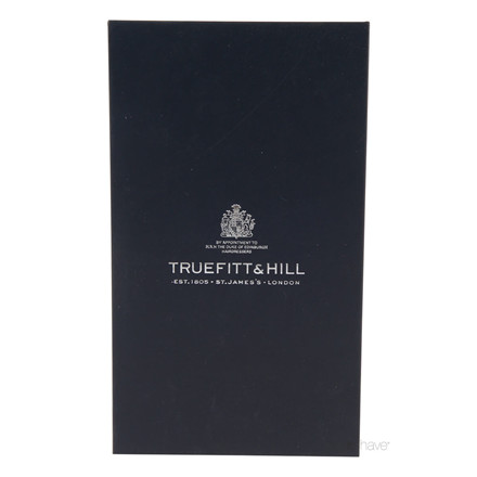 Truefitt & Hill Rejseetui til skraber og børste, Brunt læder