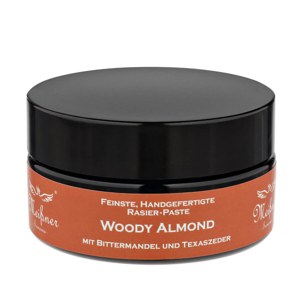 Image of   Meißner Tremonia Woody Almond Barbercreme, 200 ml.