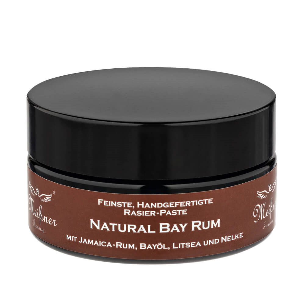 Image of   Meißner Tremonia Natural Bay Rum Barbercreme, 200 ml.