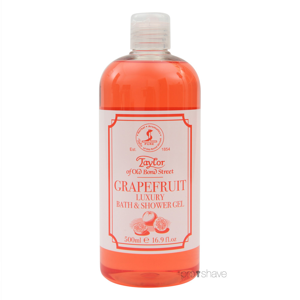 Image of   Taylor Of Old Bond Street Shower Gel, Grapefrugt, 500 ml.