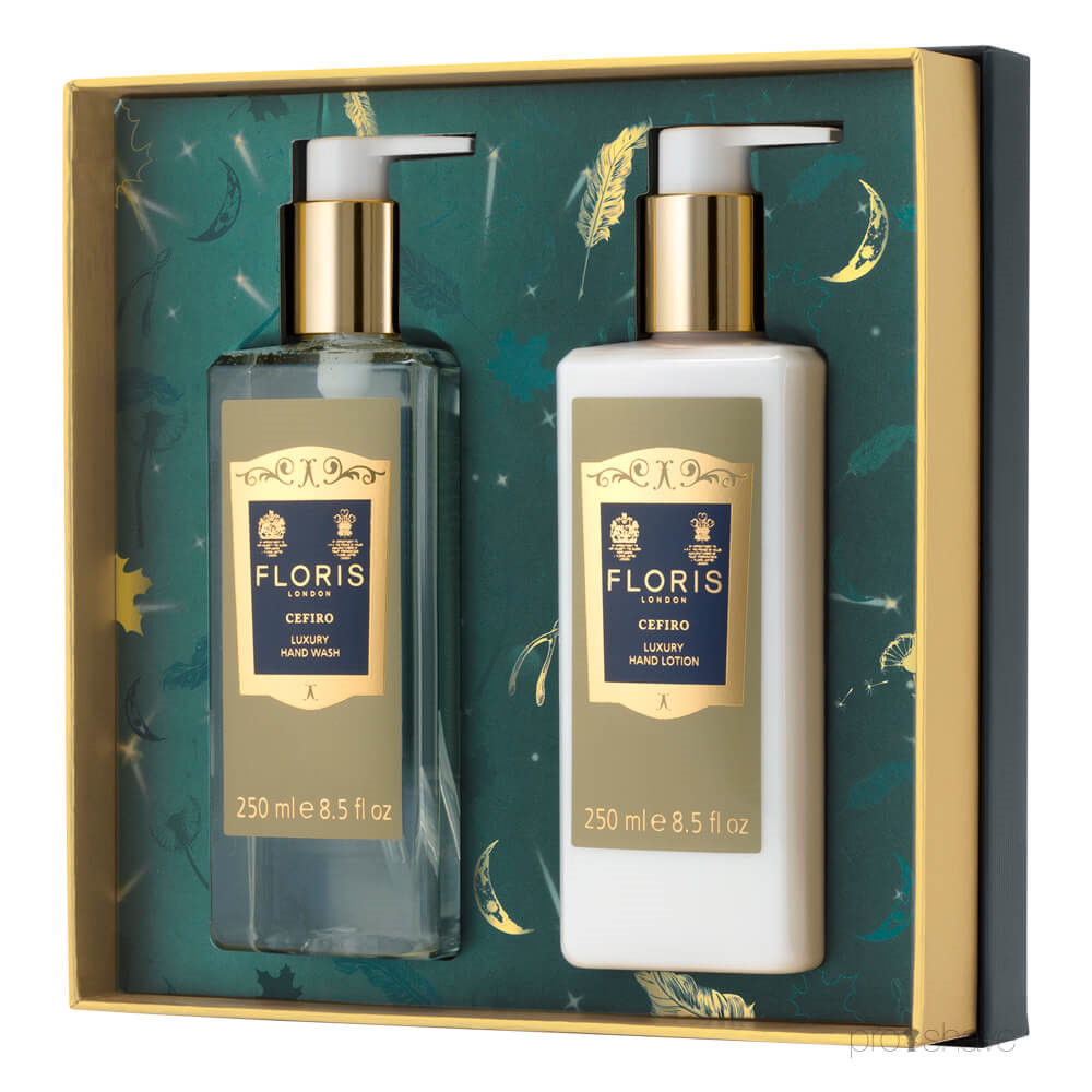 Image of   Floris Luxury Hand Wash and Lotion Duo, 2 x 250 ml.