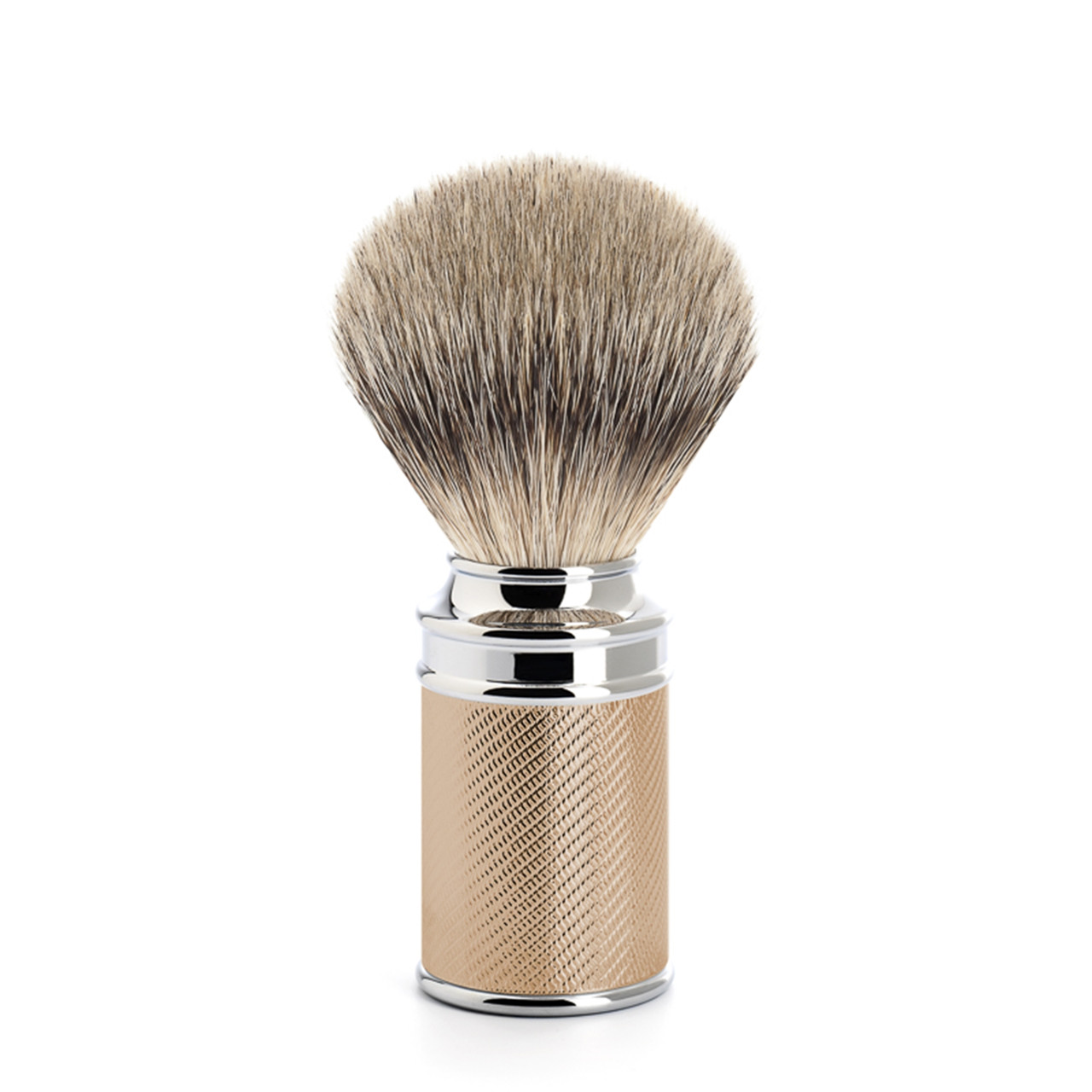 Image of   Mühle Silvertip Barberkost, 21 mm, Traditional, Rosenguld