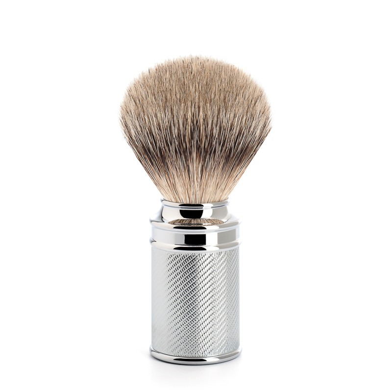 Image of   Mühle Silvertip Barberkost, 21 mm, Traditional, Krom