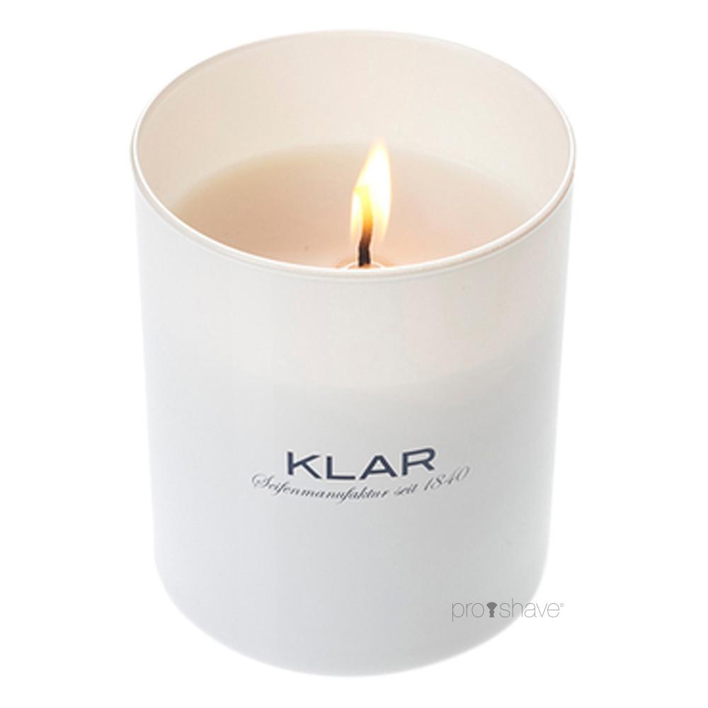 Image of   Klar Seifen Blå Blomst Duftlys, 170 gr.