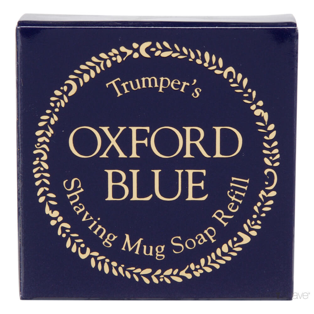 Image of   Geo F Trumper Barbersæbe, Refill, Oxford Blue, 50 gr.
