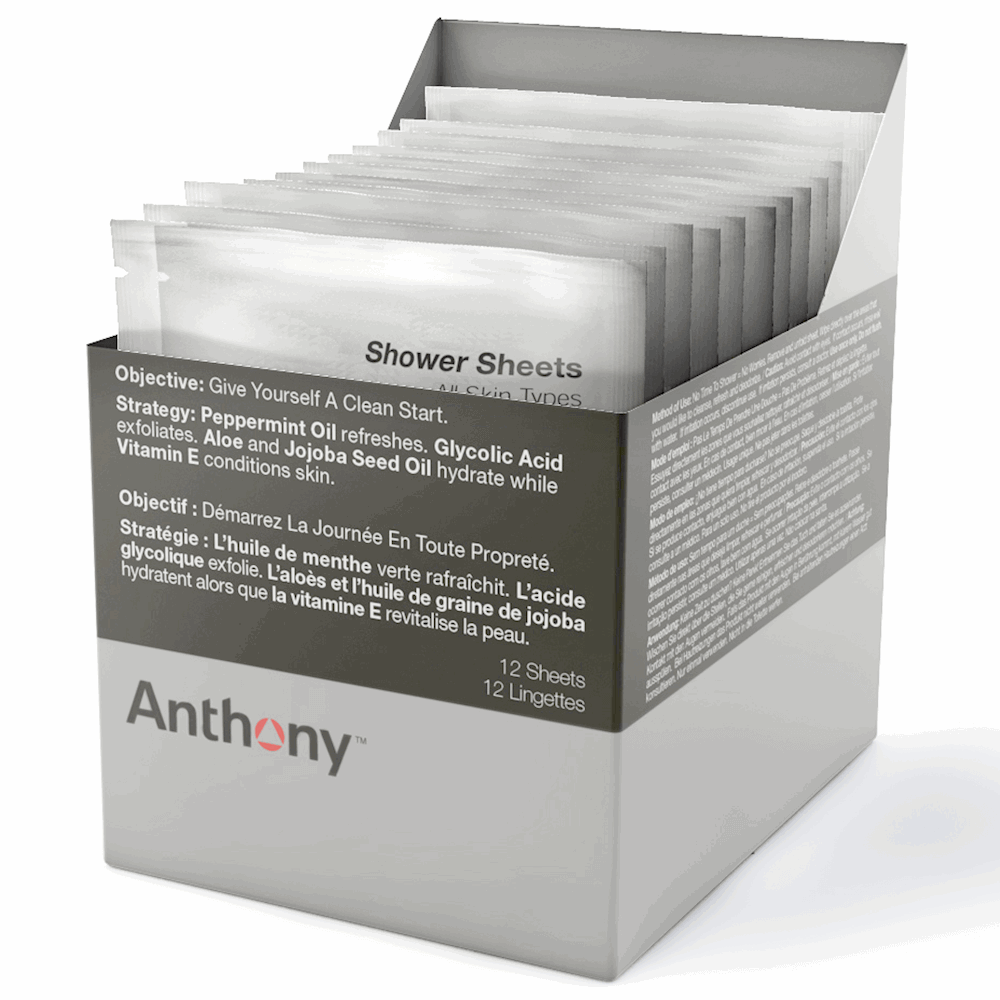 Image of Anthony Shower Sheets, 12 stk.