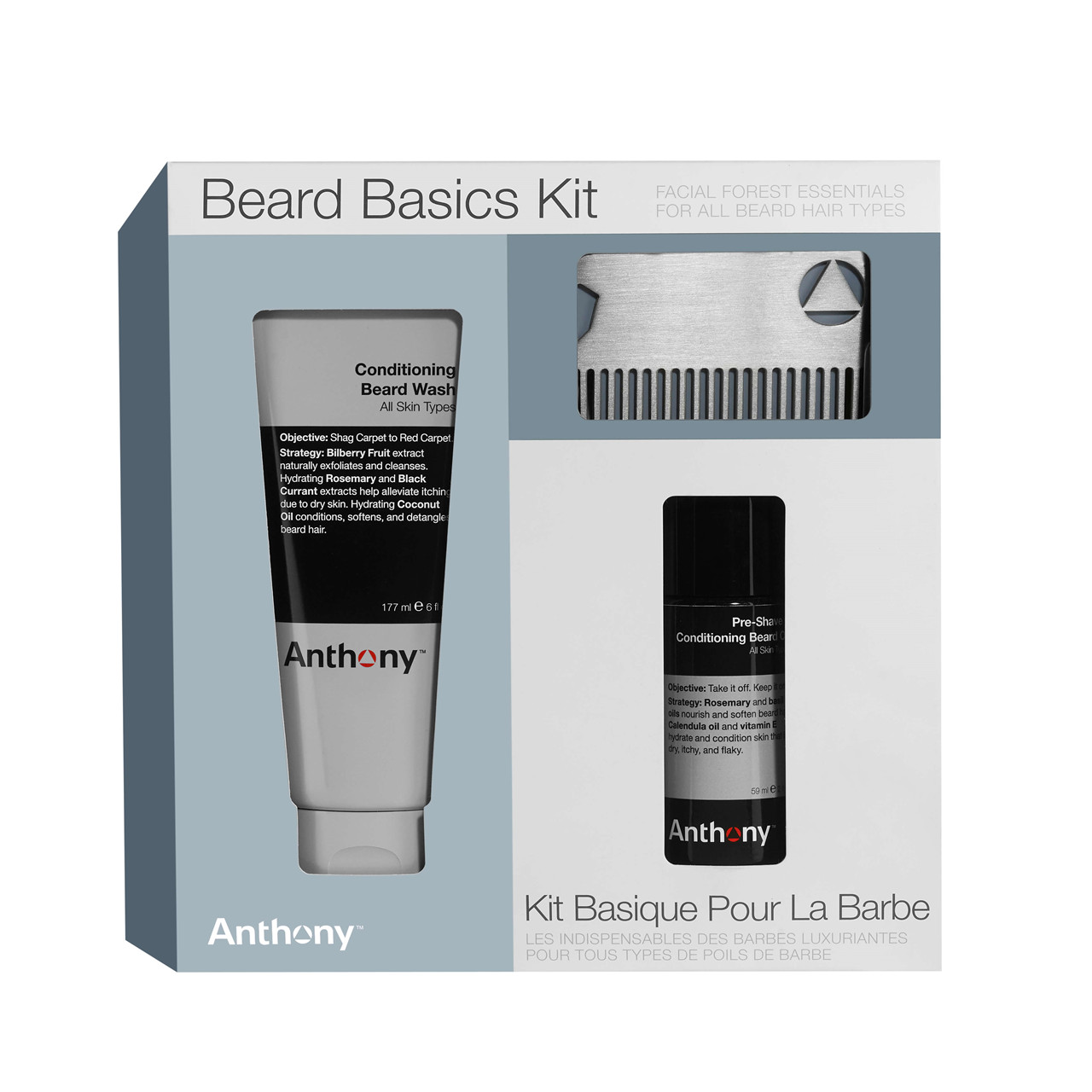 Image of Anthony Beard Basics Kit