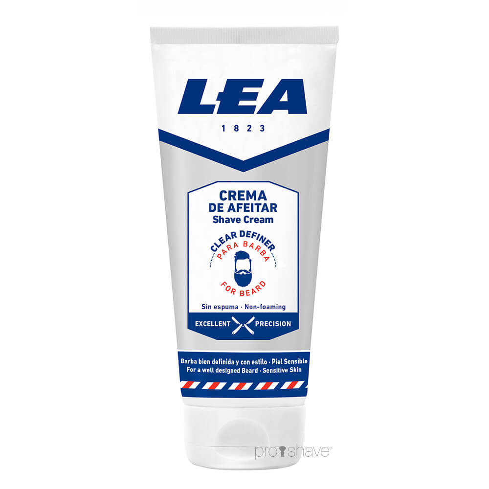 Image of   LEA Præcisions Barbercreme, 100 ml.