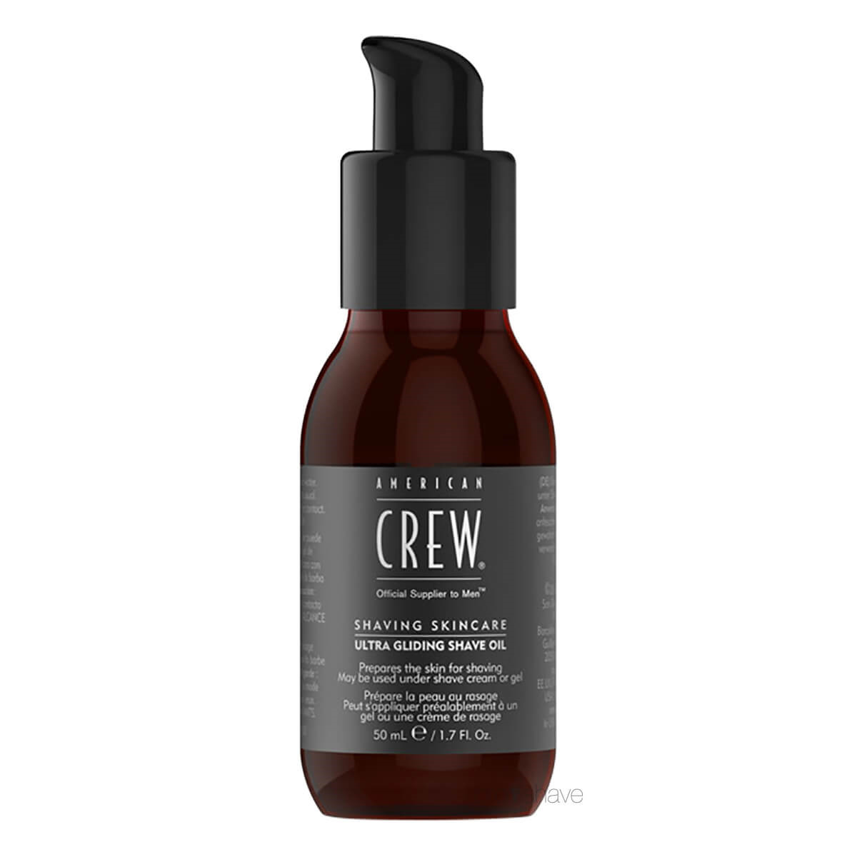 American Crew Shaving Skincare Ultra Gliding Shave Oil, 50 ml.