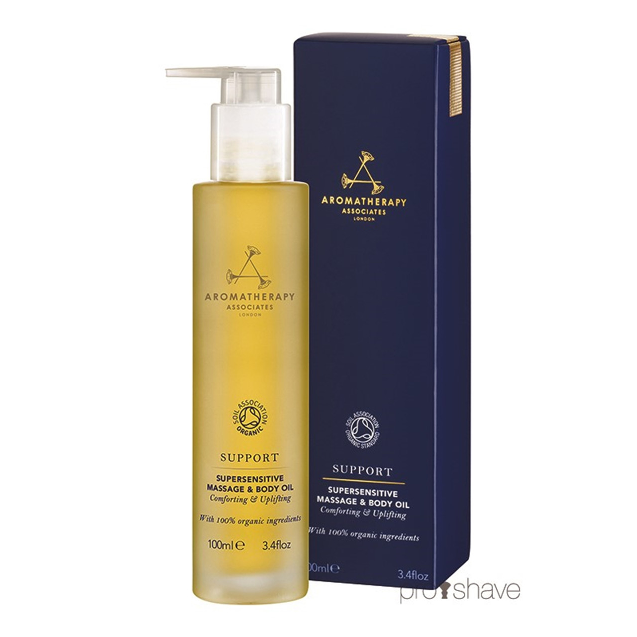 Image of   Aromatherapy Associates Support Supersensitive Massage & Body Oil