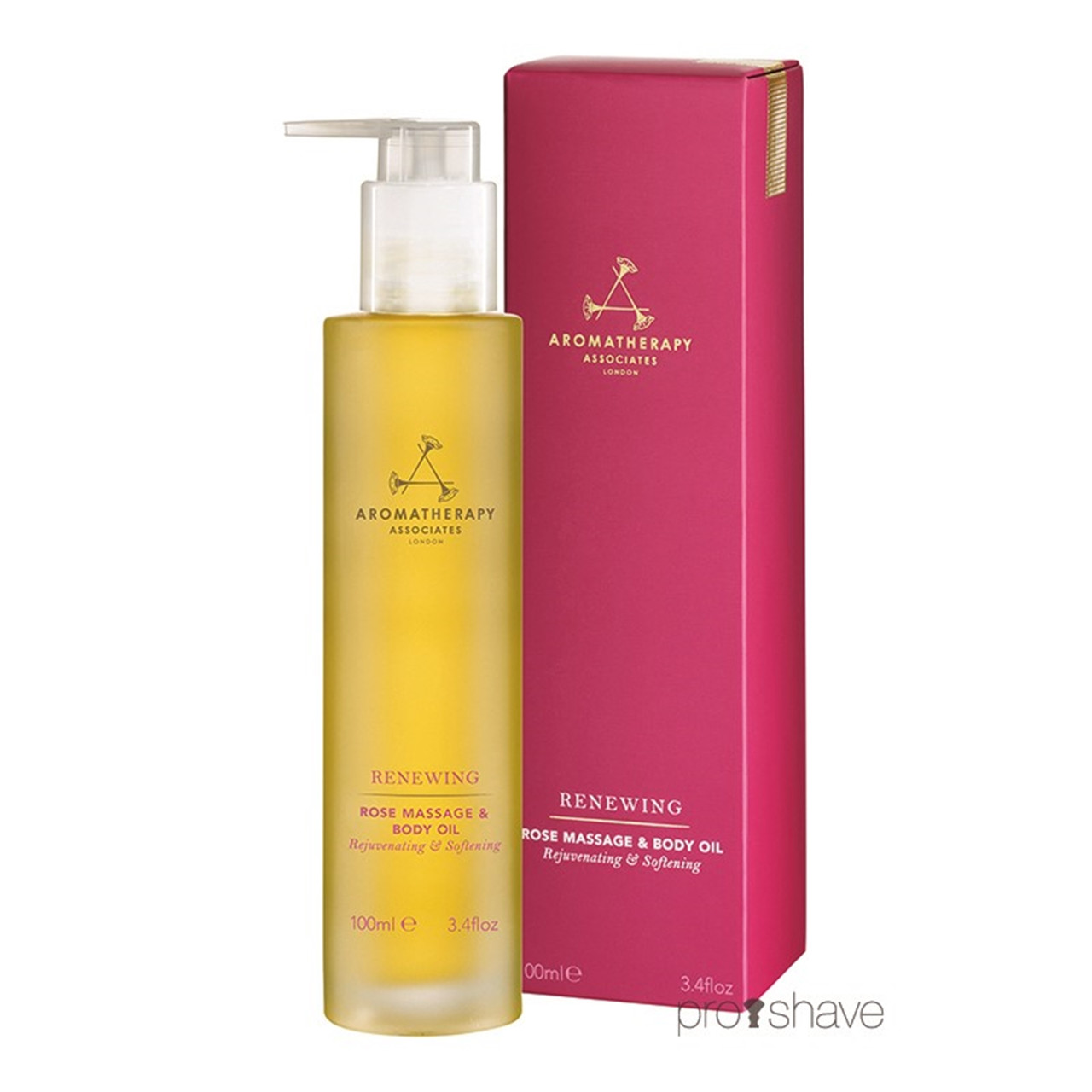 Image of   Aromatherapy Associates Renewing Rose Massage & Body Oil