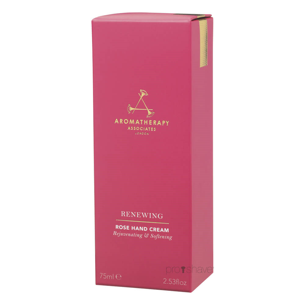 Image of   Aromatherapy Associates Renewing Rose Hand Cream, 75 ml.