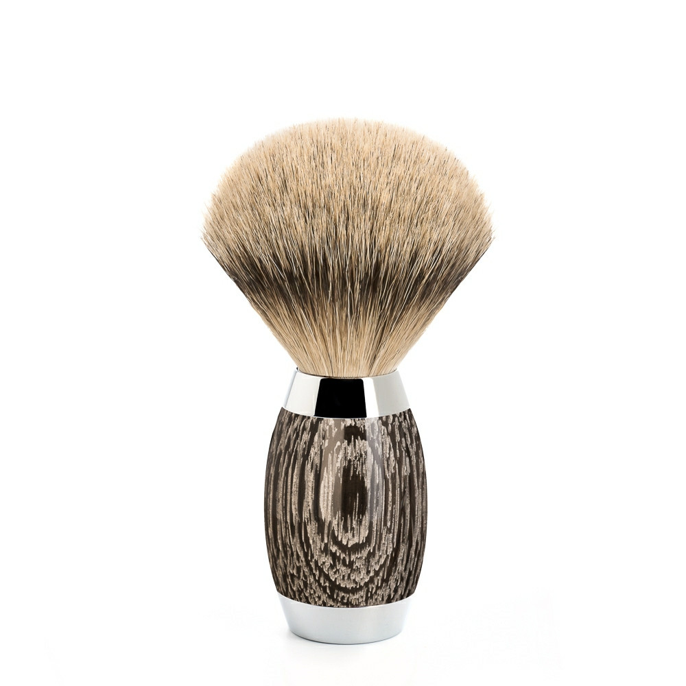 Image of   Mühle Silvertip Barberkost, Edition No. 3, Moseeg & Sterling Sølv