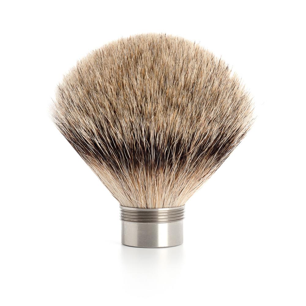 Mühle Udskiftningsbørste til Edition barberkost, 23 mm, Silvertip Badger