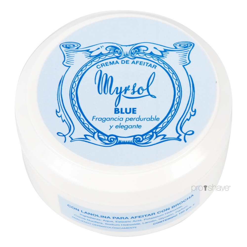 Image of   Myrsol Barbercreme, Blue, 150 ml.