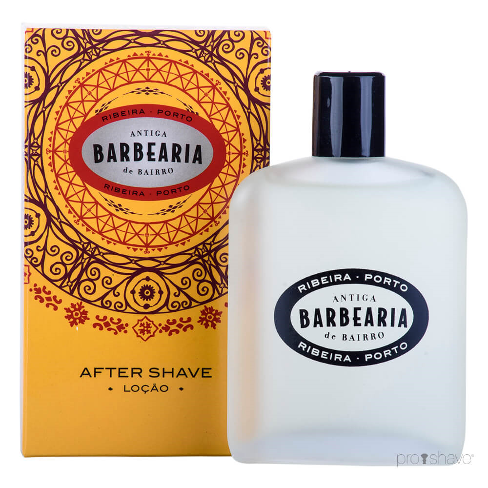 Image of Antiga Barbearia de Bairro Aftershave Lotion, Ribeira do Porto, 100 ml.