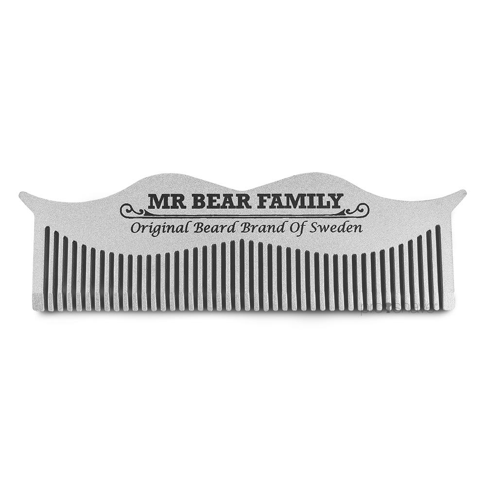 Image of   Mr. Bear Moustache Kam, 10 cm