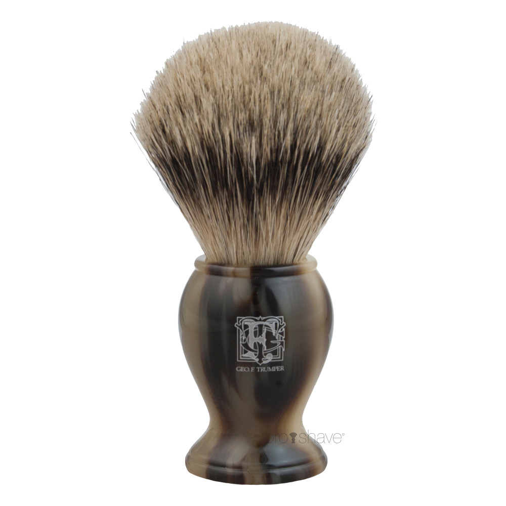 Image of   Geo F Trumper Barberkost, Super Badger, Medium, PB-Range, Horn