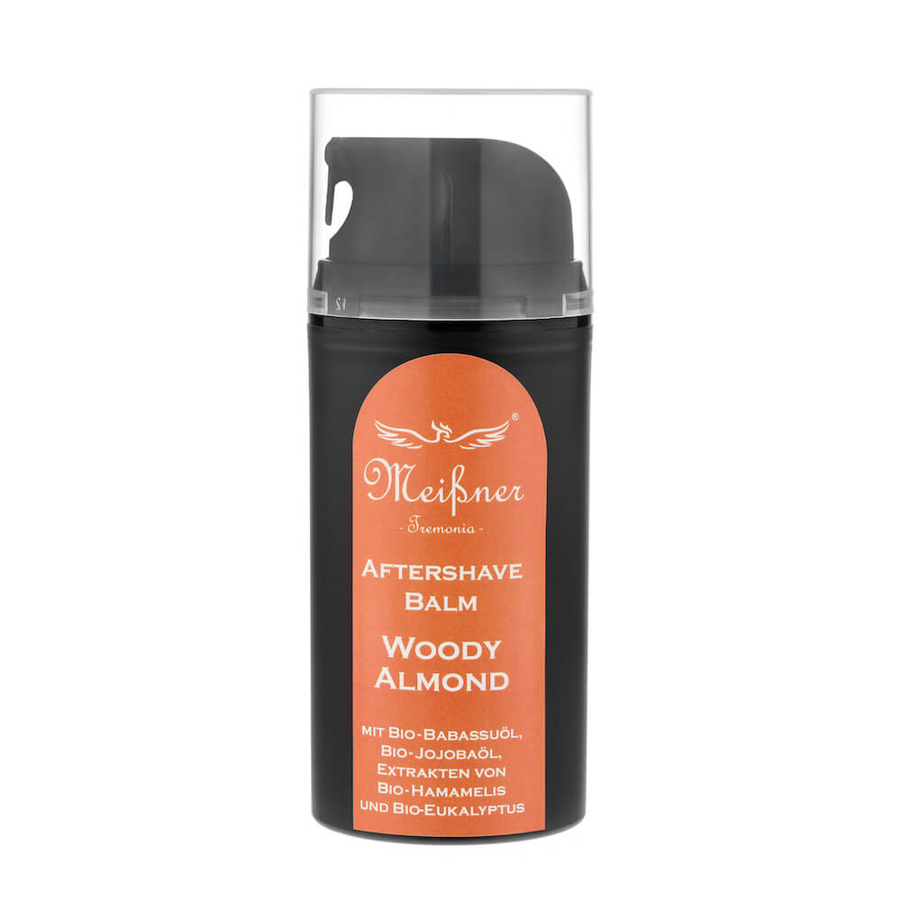 Image of   Meißner Tremonia Woody Almond Aftershave Balm, 100 ml.
