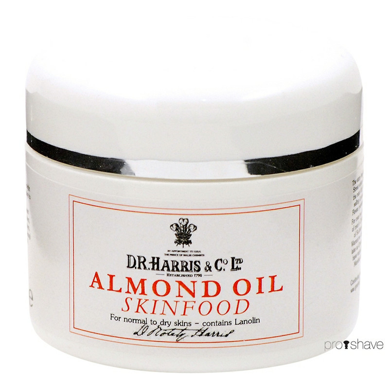 Image of   D.R. Harris Almond Oil Skinfood, 50 ml.