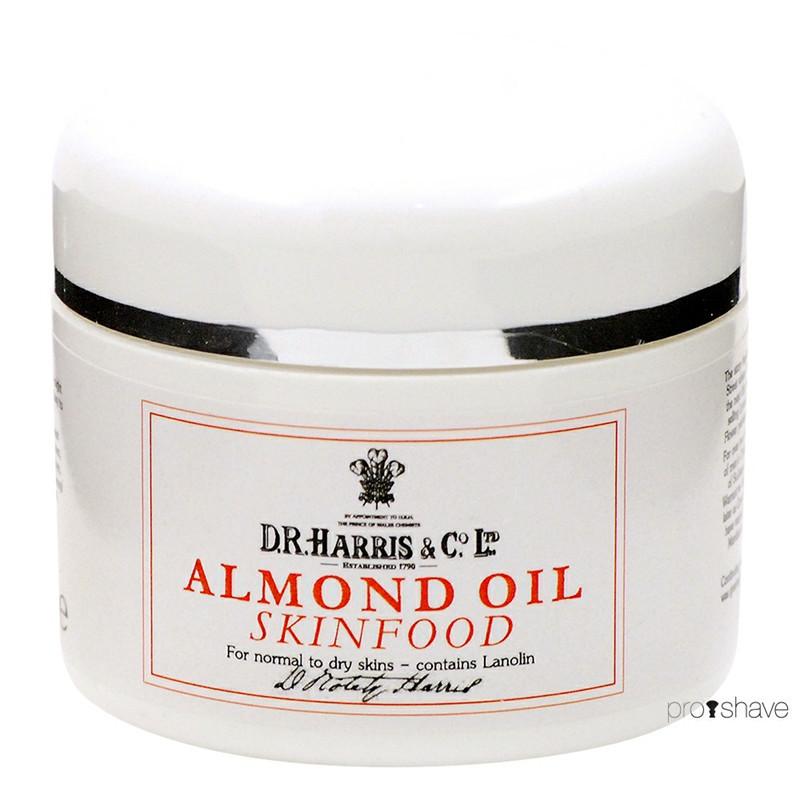 Image of   D.R. Harris Almond Oil Skinfood, 100 ml.