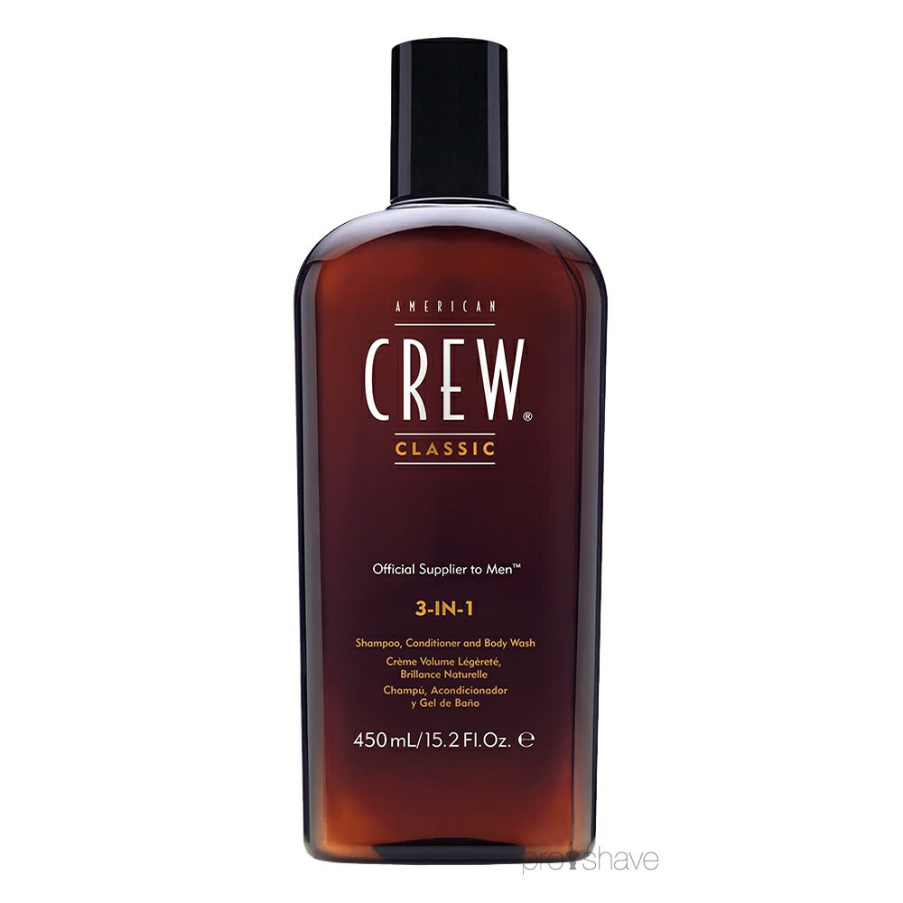 Image of American Crew 3-in-1, 450 ml.