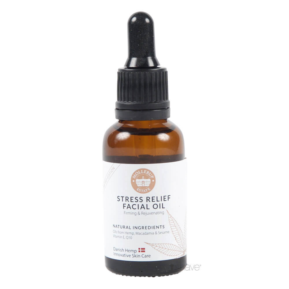 Image of   Møllerup Stress Relief Facial Oil, 30 ml.